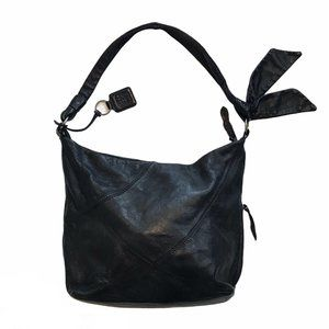 Ellington Italian Leather Hobo Shoulder Bag Purse